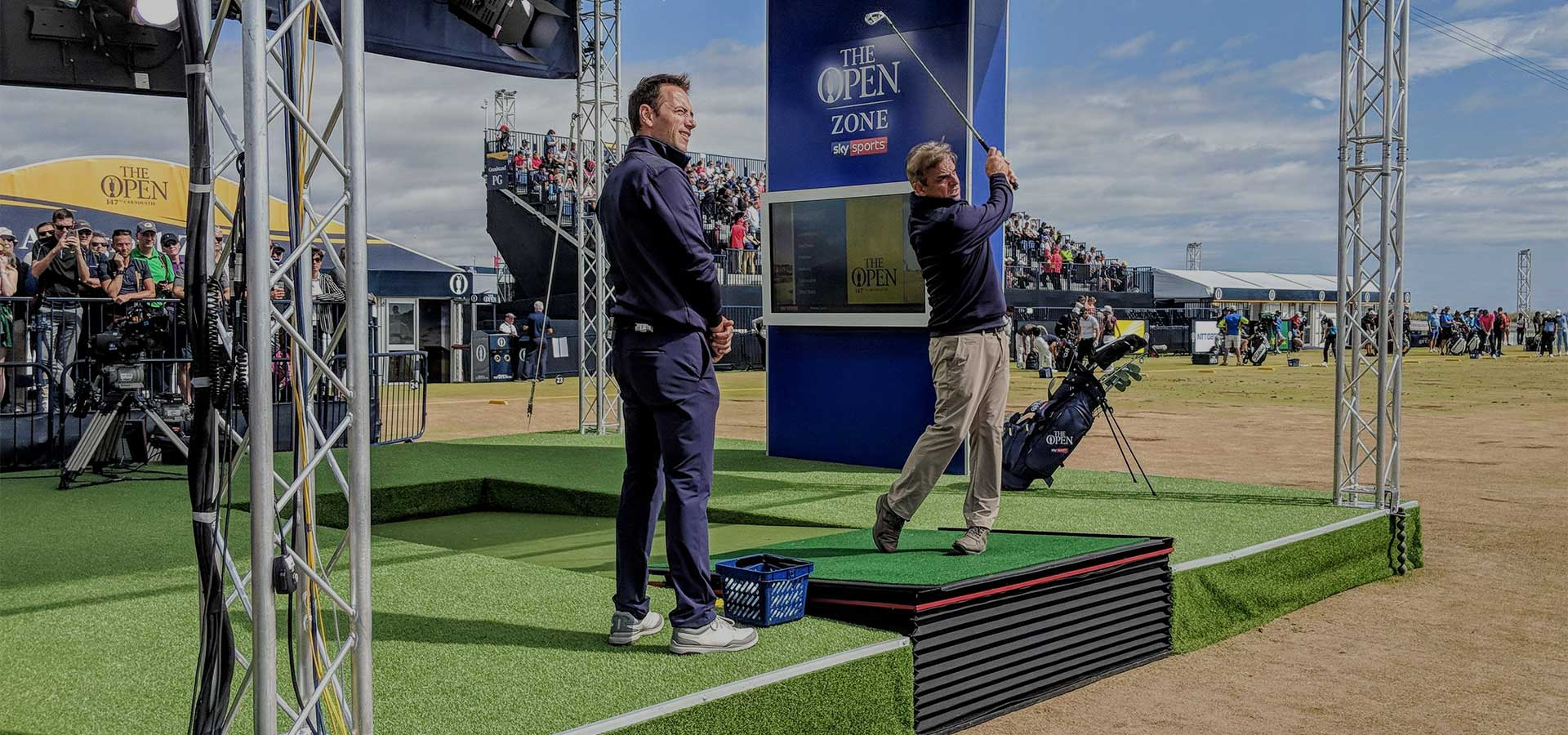 Sky Sports Golf Slide Image